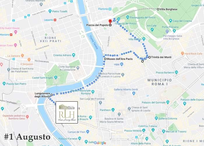 Itinerary Augustus